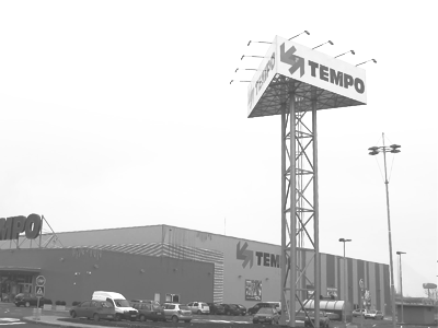Totem za Megamarket Tempo – Ada